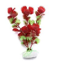 Искусственное растение колючие листочки 19см