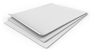 Полістирол HIPS білий лист 1000х2000 мм, глянець/мат
