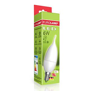 """EUROLAMP LED Лампа ЕКО серия """"D"""" Candle on Wind 6W E14 3000K/4000K"""