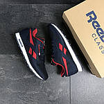 Мужские кроссовки Reebok (темно-синие с красным), фото 4