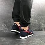 Мужские кроссовки Reebok (темно-синие с красным), фото 3