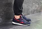 Мужские кроссовки Reebok (темно-синие с красным), фото 5