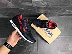 Мужские кроссовки Reebok (темно-синие с красным), фото 6