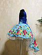 Платье нарядное детское бальное со шлейфом, фото 7