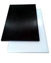 Полистирол HIPS 1 мм черный, лист 1000х2000 мм, глянец / мат