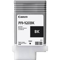 Картридж Canon PFI-120BK для TM-200/300, Black, 130 мл