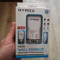 Зарядное устройство Syrox j-15 для зарядки телефона и планшета