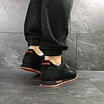 Мужские кроссовки Reebok (черно-оранжевые), фото 4