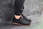 Мужские кроссовки Reebok (черно-оранжевые), фото 6