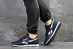 Мужские кроссовки Reebok (темно-синие с белым), фото 2