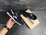 Мужские кроссовки Reebok (темно-синие с белым), фото 3