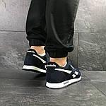 Мужские кроссовки Reebok (темно-синие с белым), фото 4