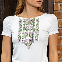 Вышиванки трикотажные женские - Цветы, фото 2