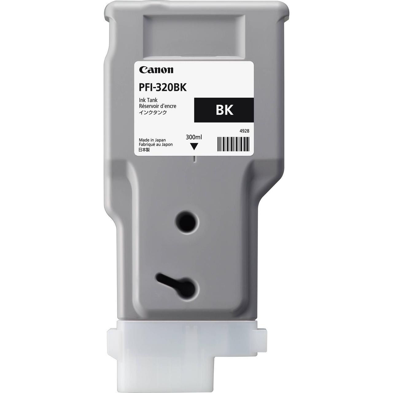 Картридж Canon PFI-320BK для TM-200/300, Black, 300 мл