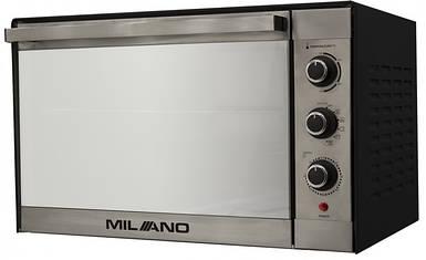 Духовка электрическая  MILANO MO-48 Black (48 литров,конвекция, гриль, вертел, подсветка)