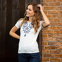 """Вышиванка футболка женская """"Звездное сияние"""", фото 2"""