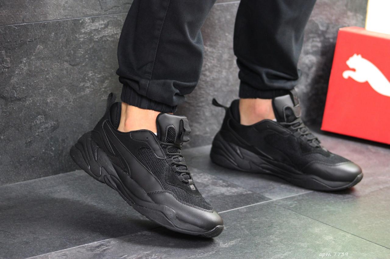 Мужские кроссовки Puma (черные)