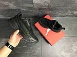Мужские кроссовки Puma (черные) , фото 4