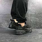 Мужские кроссовки Puma (черные) , фото 6