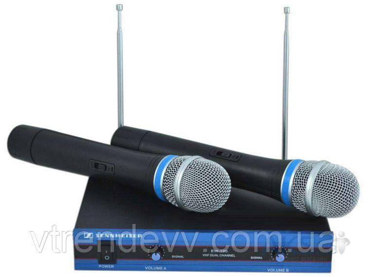Радиосистема Sennheiser EW100 + 2 микрофона
