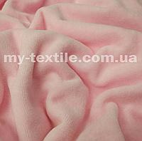 Велюр хлопковый Нежно-розовый