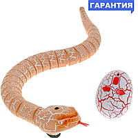 Змея на и/к управлении Rattle snake (коричневая)