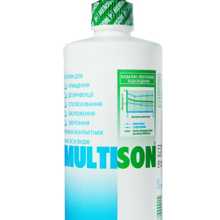 Розчин для лінз Multison 375 ml
