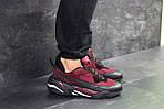 Мужские кроссовки Puma (бордовые) , фото 2