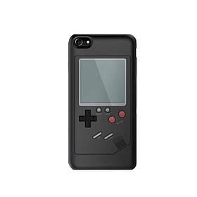 Чехол панель TETRIS CASE LAUDTEC WANLE для смартфонов iPhone 6/6S с игрой Тетрис Черный (SUN0146)
