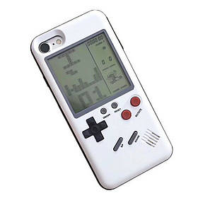 Чехол панель TETRIS CASE LAUDTEC WANLE для смартфонов Apple iPhone 6+/6S+ PLUS с игрой Тетрис Белый (SUN91150)