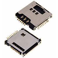 Коннектор сим карты Samsung S5230 Star, Конектор сім карти Samsung S5230 Star