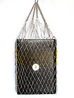 Авоська золото и серебро - модная сумка
