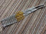 Авоська золото и серебро - модная сумка, фото 3