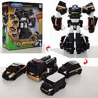 Трансформер тобот QUATRAN (519ТВТ) 4 в 1: робот из 4 машинок
