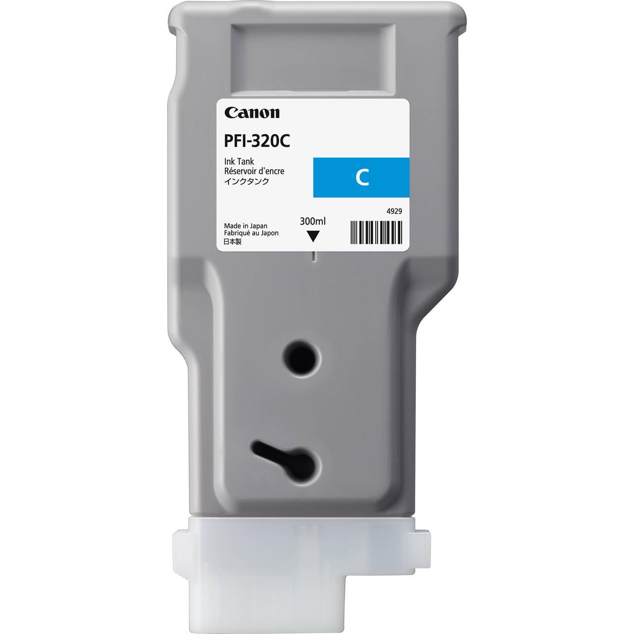 Картридж Canon PFI-320C для TM-200/300, Cyan, 300 мл
