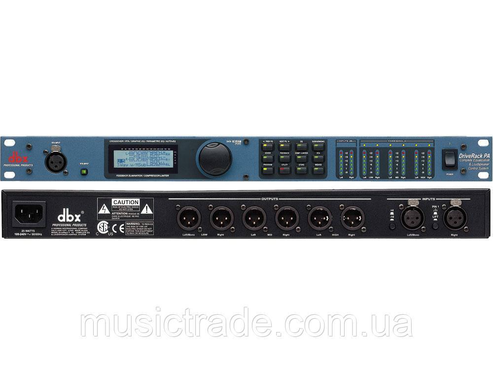 Процессор акустических систем DBX DriveRack PA