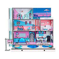 Кукольный домик L.O.L. Surprise House Меганабор ЛОЛ Модный особняк (555001), фото 7