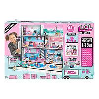 Кукольный домик L.O.L. Surprise House Меганабор ЛОЛ Модный особняк (555001), фото 5