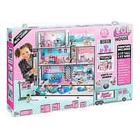 Кукольный домик L.O.L. Surprise House Меганабор ЛОЛ Модный особняк (555001), фото 4
