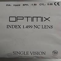 Оптическая линза optimix 1.49