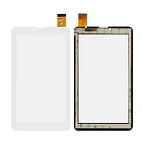 Сенсорный экран Nomi A07005 Astra 4GB белый (30 pin), HS1275 V106/FM707101KD/370-A/YLD-CEG7069-FPC-AO/MDJ M706 FPC (тачскрин, стекло в сборе),