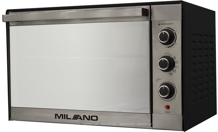 Духовка электрическая  MILANO MO-48 Silver (48 литров,конвекция, гриль, вертел, подсветка)