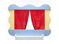 Ширма для домашнего кукольного театра 80х55 см
