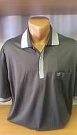 Мужская футболка-поло на на пуговицах новинка этого сезона с вышивкой лого Cottonart на накладном кармане