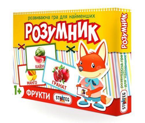 """Развивающая игра """"Умник. Фрукты"""" 30303"""