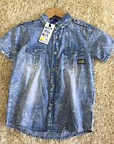 Рубашка для мальчика оптом, размеры 4-12 лет, S&D, арт. KK-590