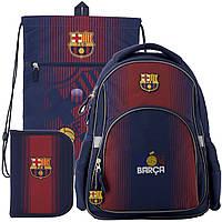 Рюкзак в комплекте 3 в 1 FC Barcelona KITE BC19-513S+601L+621