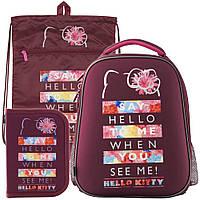 Рюкзак в комплекте 3 в 1 Hello kitty KITE HK19-531M+601M+622