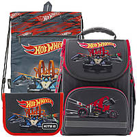 Рюкзак в комплекте 3 в 1 Hot Wheels KITE HW19-500S+601M-1+621-1