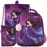 Рюкзак в комплекте 3 в 1 Princess KITE K19-531M-1+600S-3+621-5